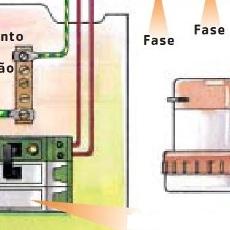 Dimensionar circuito do chuveiro